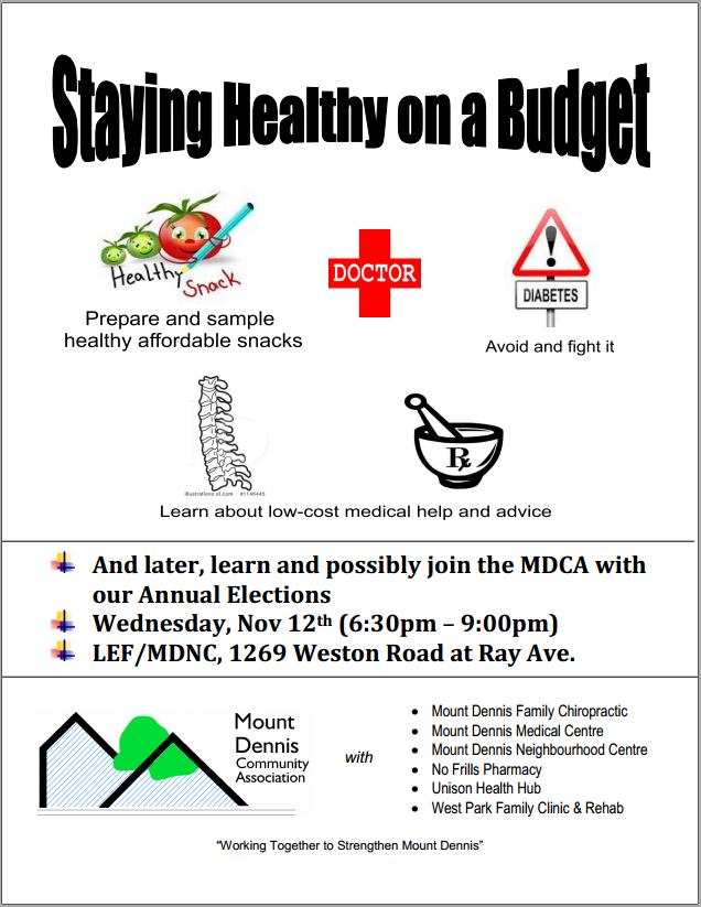 MDCA Health Event